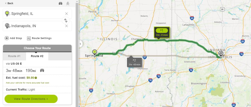 Mapquest Mileage