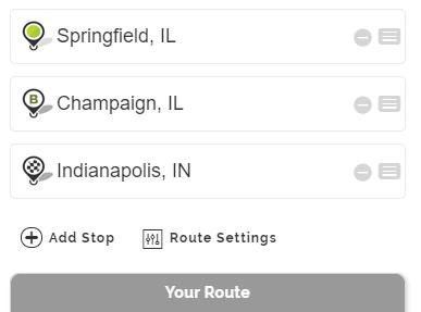 Mapquest Mileage Services